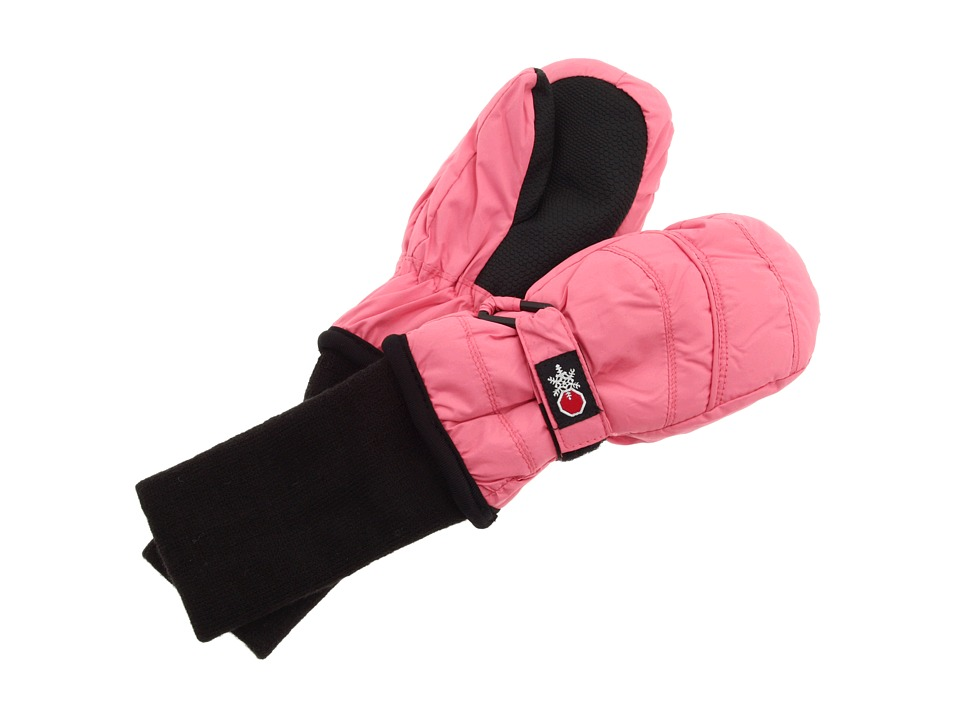 Tundra Boots Kids - Snow Stoppers Mittens (Little Kids/Big Kids) (Pink) Extreme Cold Weather Gloves