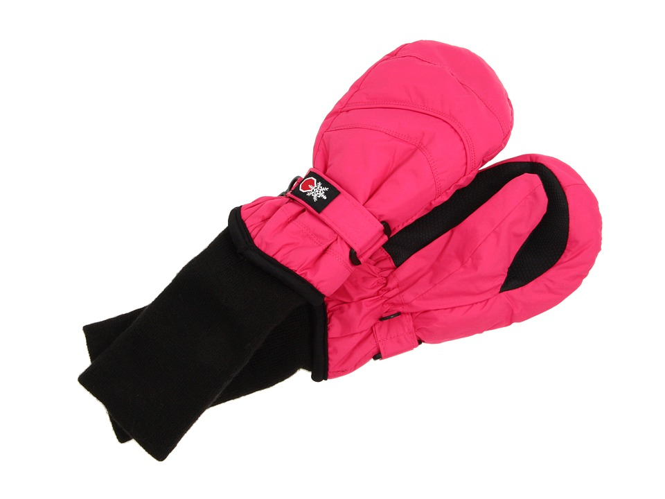 Tundra Boots Kids - Snow Stoppers Mittens (Little Kids/Big Kids) (Fuchsia) Extreme Cold Weather Gloves