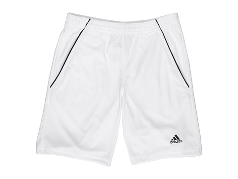 adidas Kids - Tennis Sequencials Bermuda (Little Kids/Big Kids) (White/Black) Boy