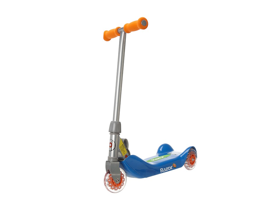 Razor - Razor Jr. Folding Kiddie Kick Scooter (Blue) Athletic Sports Equipment