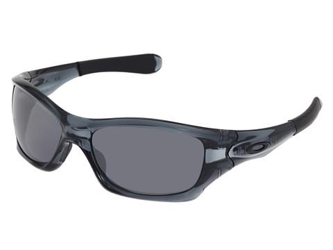 Oakley - Pit Bull (Crystal Black/Black Iridium Lens) Sport Sunglasses