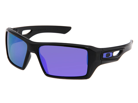 Oakley - Eyepatch 2 (Polished Black/Violet Iridium Lens) Sport Sunglasses