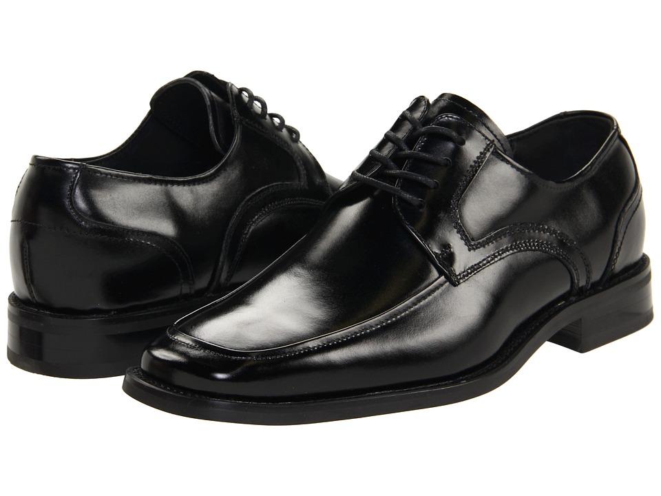Stacy Adams - Forrest Moc Toe Lace (Black) Men's Lace Up Moc Toe Shoes