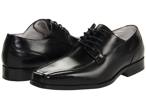 Stacy Adams - Hobart (Black) Men's Lace-up Bicycle Toe Shoes