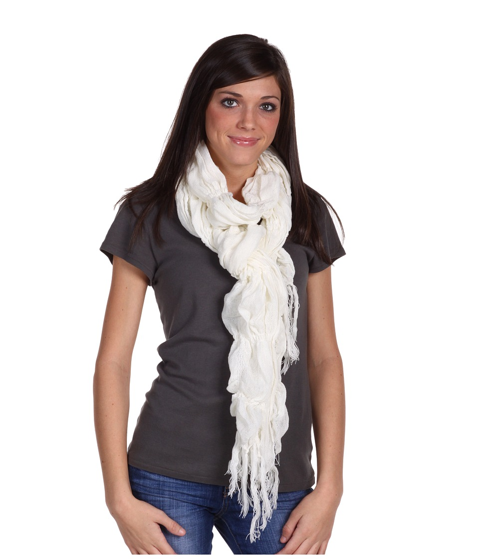 Roxy - Cozy Up Scarf (Winter White) Scarves