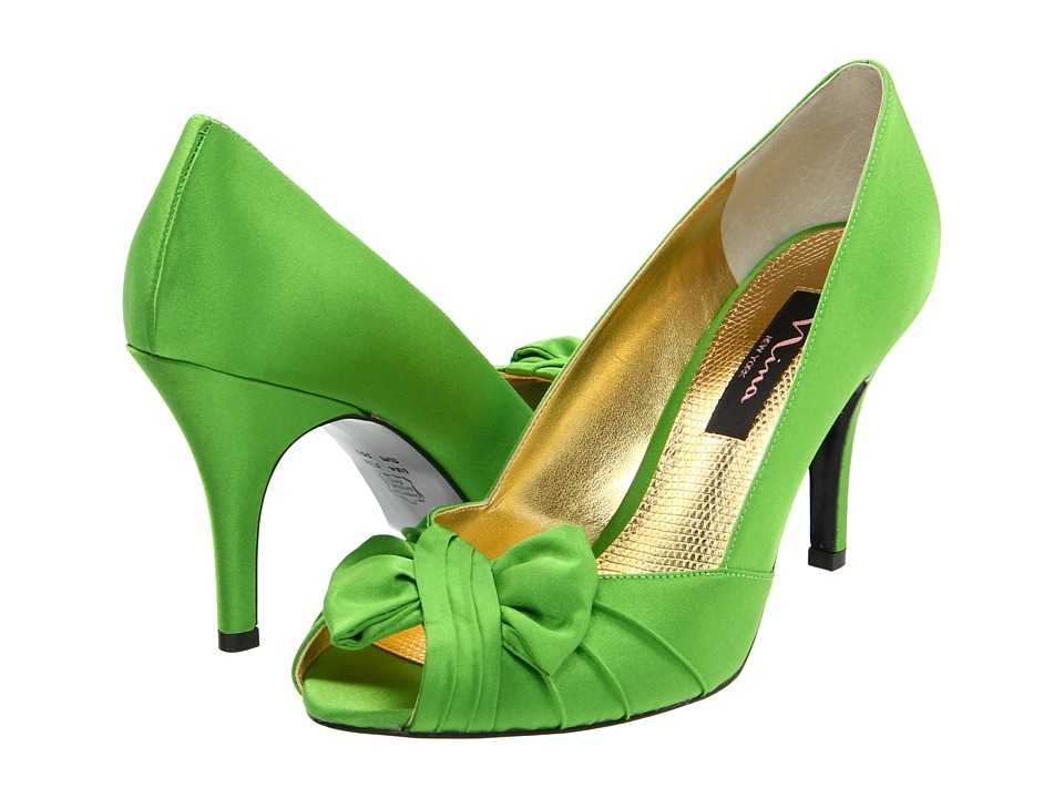 Nina - Forbes (Apple Green Satin) Women