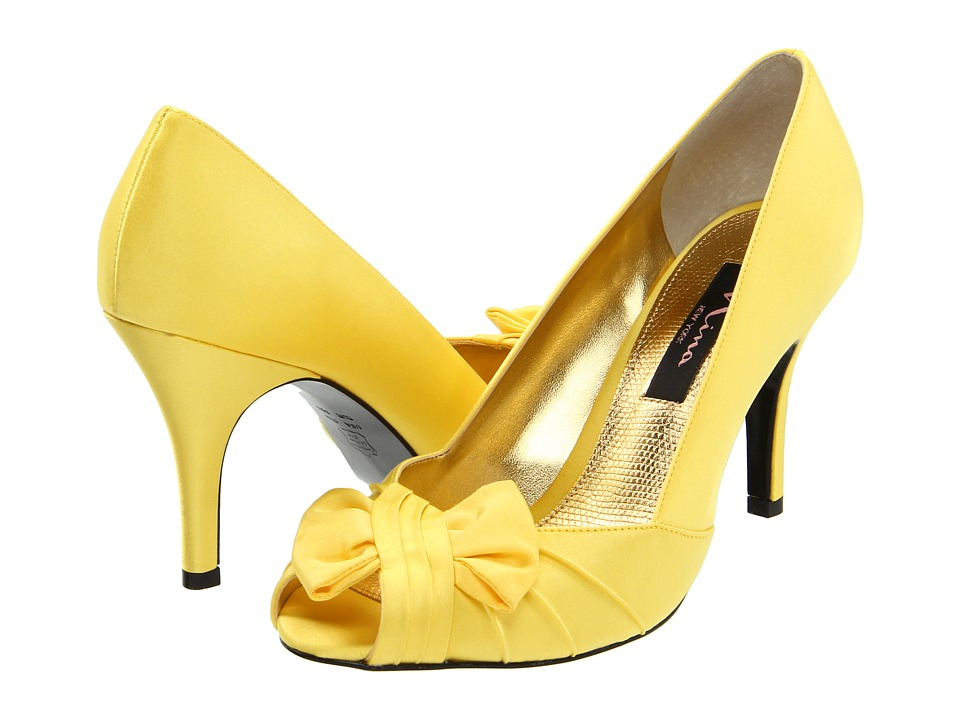 Nina - Forbes (Canary Satin) Women