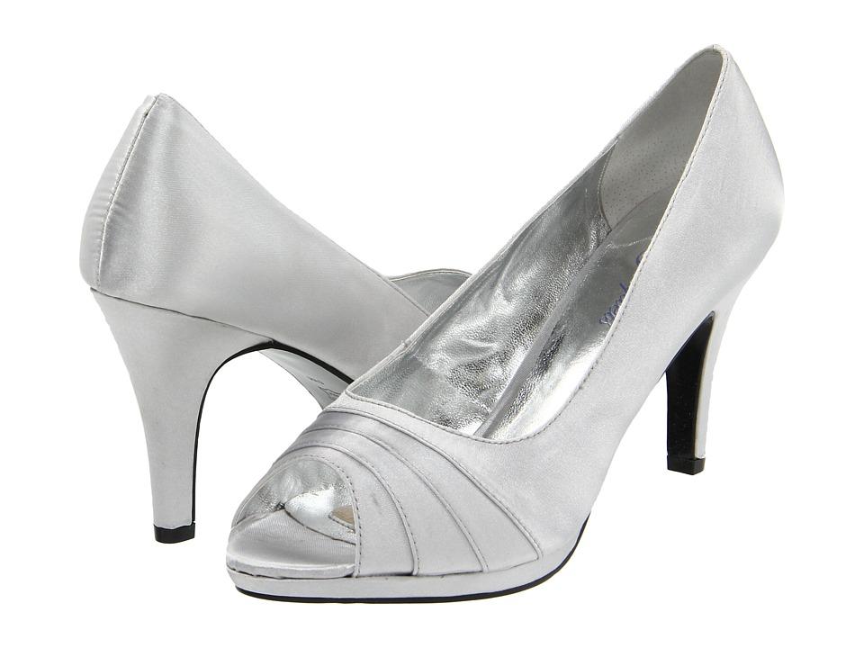 Bouquets - Carissa (Silver) Women's Bridal Shoes