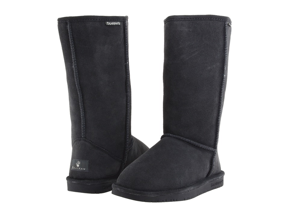 Bearpaw - Emma Tall (Charcoal) Women's Pull-on Boots