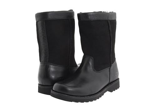 UGG Kids - Riverton (Toddler/Little Kid/Big Kid) (Black/Black) Kids Shoes