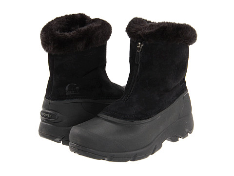 SOREL - Snow Angel Zip (Black) Women's Cold Weather Boots