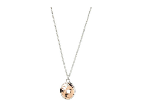 Breil Milano - Shadow Pendant 42cm Necklace (Two-Tone) Necklace