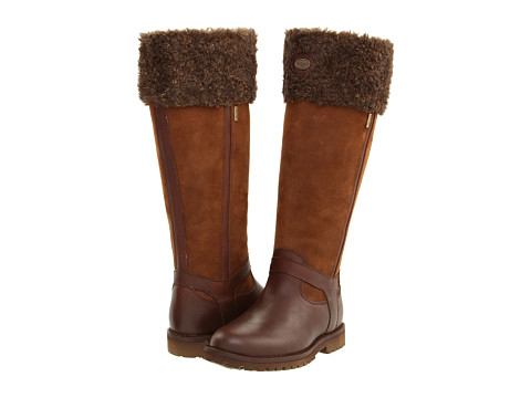 Le Chameau - Jameson Fur GORE-TEX (Brown) Women's Boots
