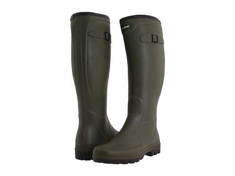 Le Chameau - Country All Tracks (Olive Green) Women's Boots