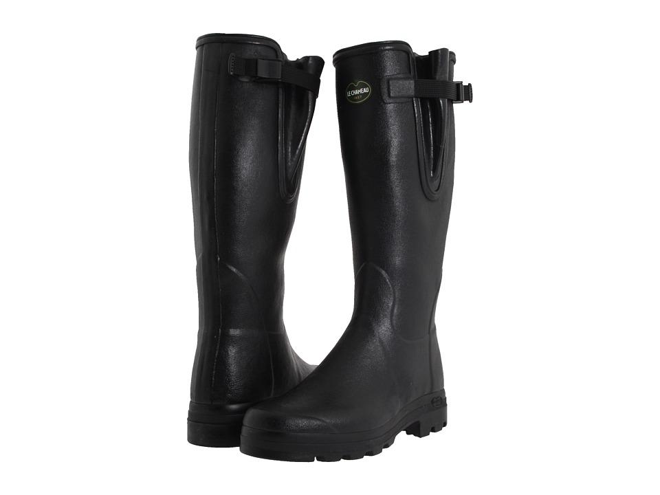 Le Chameau - Vierzon (Black) Men's Boots