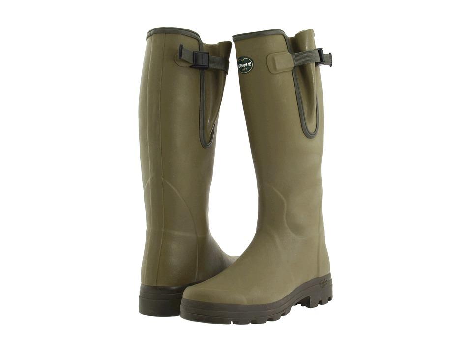Le Chameau - Vierzon (Olive Green) Men's Boots
