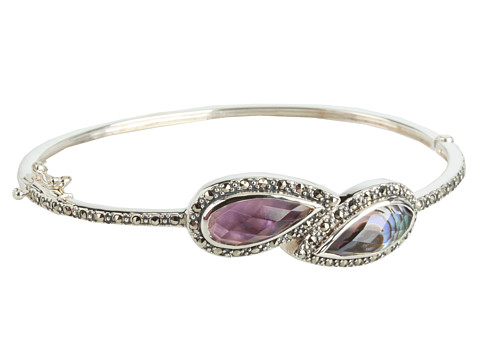 Judith Jack - Cabernet Bangle Bracelet (Purple) Bracelet