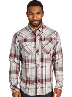 SALE! $19.78 - Save $37 on Fox Intertwined L S Woven (Burgundy) Apparel - 64.99% OFF $56.50