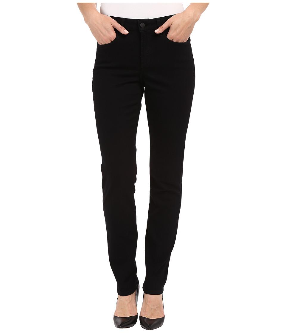 NYDJ - Sheri Skinny Leg Overdye Denim (Black) Women's Jeans