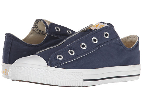 Converse Kids - Chuck Taylor All Star Core Slip (Little Kid) (Navy) Kids Shoes