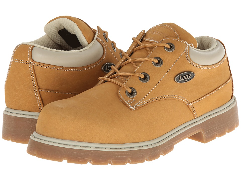 Lugz - Drifter Lo (Wheat/Cream/Gum Nubuck) Men's Lace-up Boots