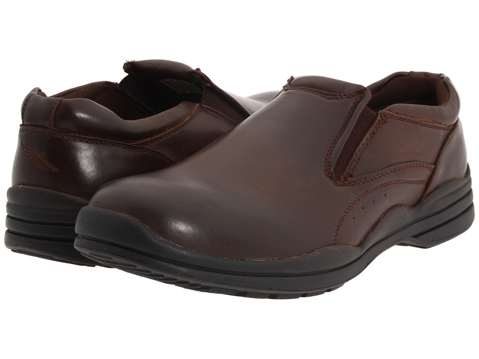 Deer Stags - Goal (Dark Brown) Men's Slip on Shoes