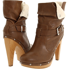 buy BCBGeneration,  Martha Bootie (Saddle/Natural),  Footwear fashion shop