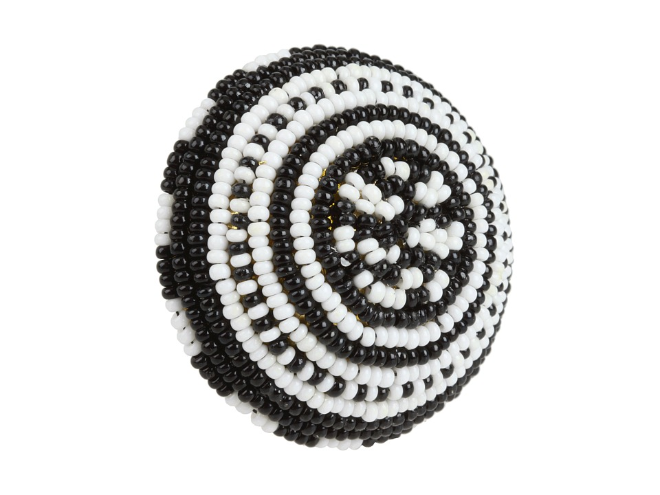 Noir Jewelry - BW Masai Ring (Black/White) Ring