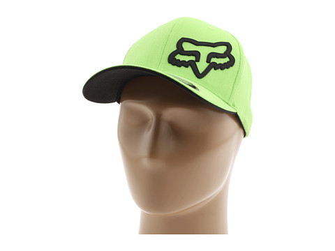 Fox - Signature Flexfit Hat (Green) Baseball Caps