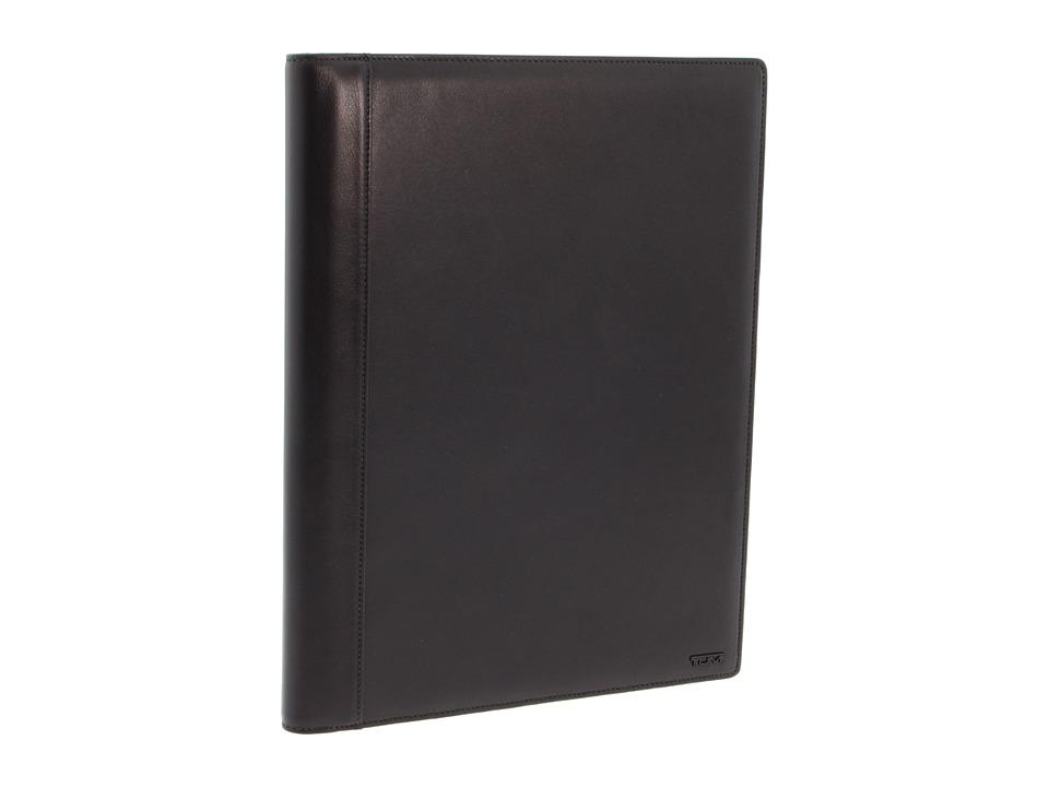 Tumi - Delta Letterpad (Black) Wallet