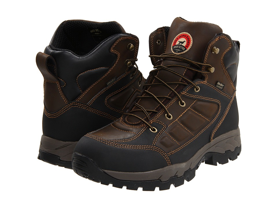 Irish Setter - 83401 6 Waterproof Hiker (Brown) Men