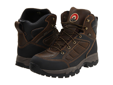 Irish Setter - 83401 6 Waterproof Hiker (Brown) Men's Work Boots