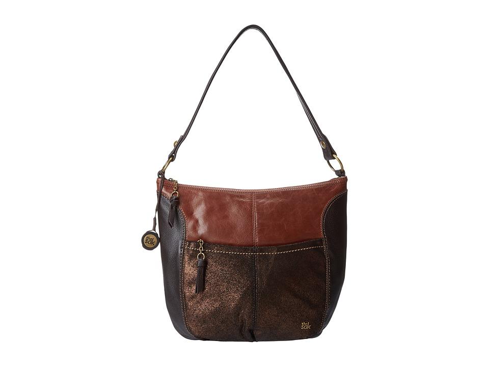 The Sak - Iris Large Hobo (Teak Multi) Hobo Handbags