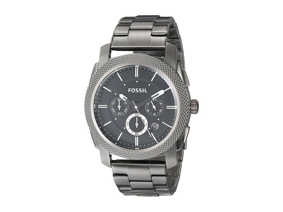 Fossil - Machine - FS4662 (Smoke/Black) Watches