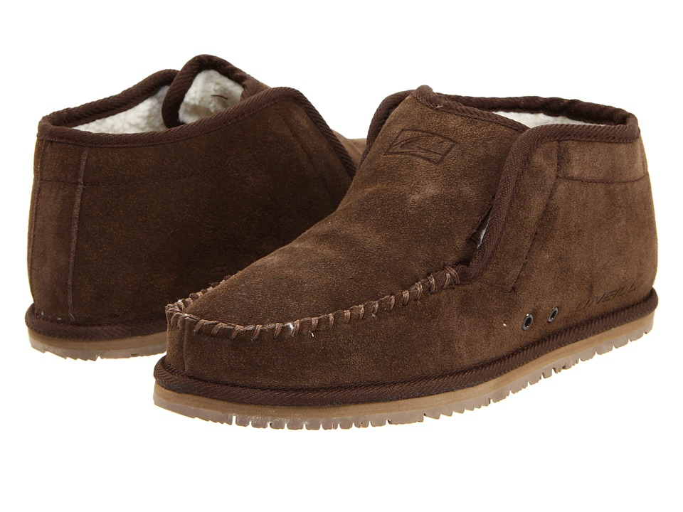 O'Neill - Surf Turkey Suede (Brown) Men's Slippers