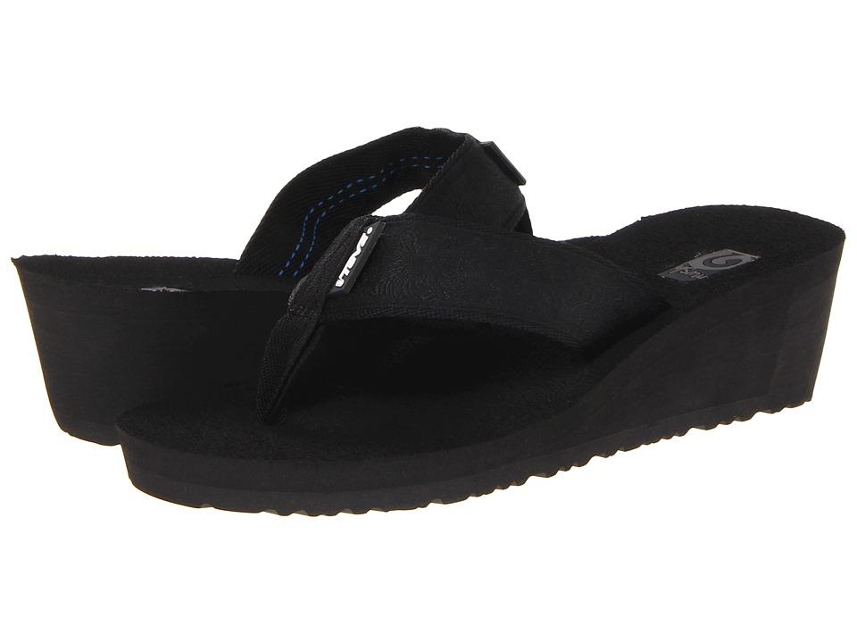 Teva - Mush Mandalyn Wedge 2 (Motif Black Out) Women's Wedge Shoes