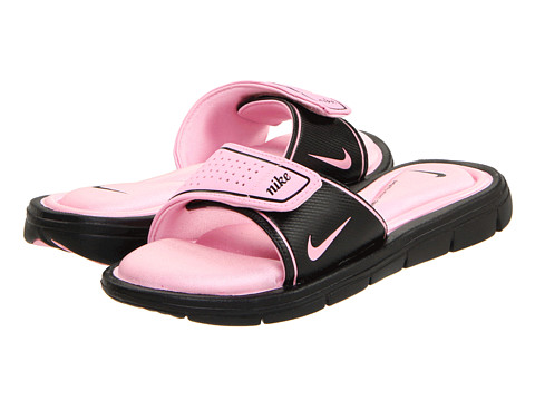 Nike - Comfort Slide (Black/Perfect Pink) Women
