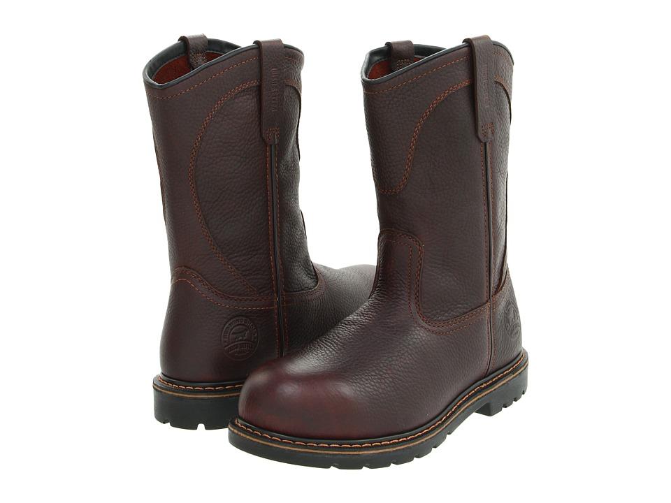 Irish Setter - 83904 Pull-On Aluminum Toe (Brown) Men's Work Pull-on Boots