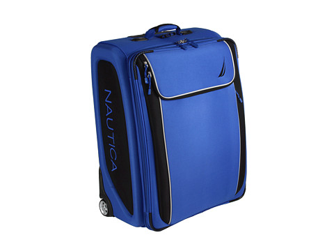 Nautica - Spinnaker Collection - 28 Upright Case (Alpine Blue/Black) Luggage