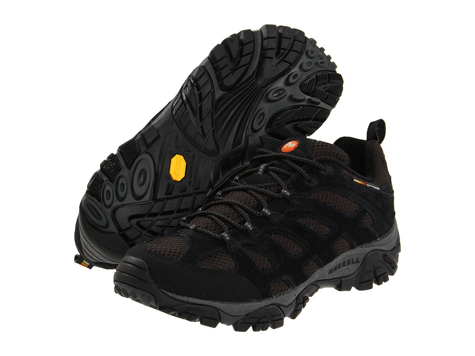 Merrell - Moab Ventilator (Black Night) Men's Lace up casual Shoes
