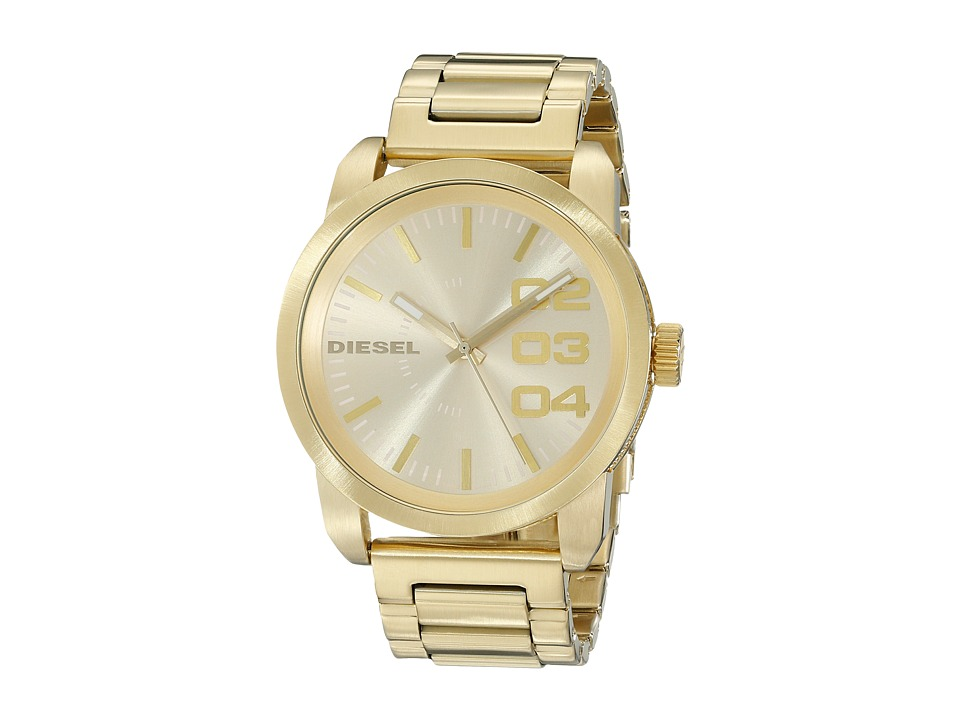 Diesel - Franchise Quartz Watch DZ1466 (Champagne Gold) Watches