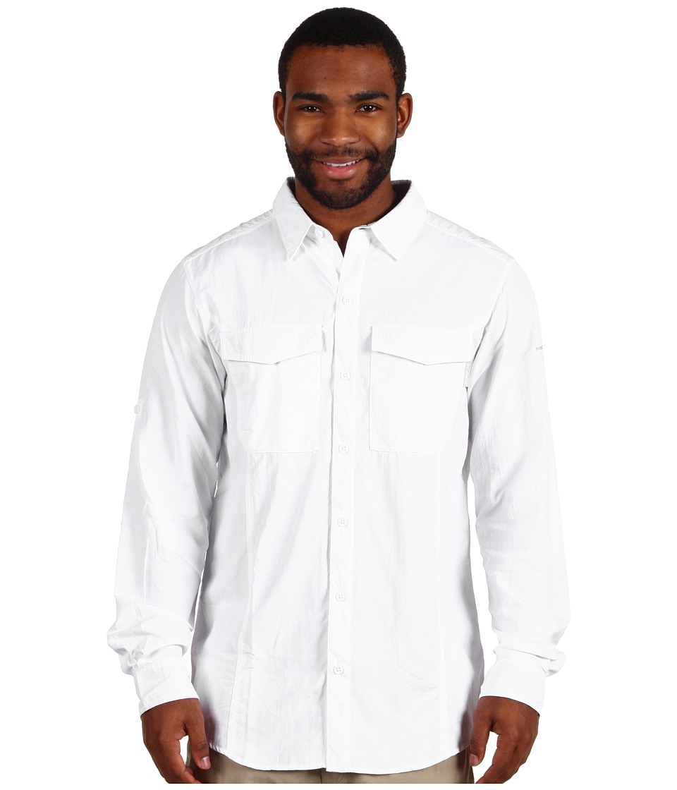 Columbia - Insect Blocker L/S Shirt (White) Men's Long Sleeve Button Up