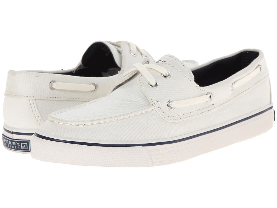 Sperry Biscayne White Women S Slip On Shoes