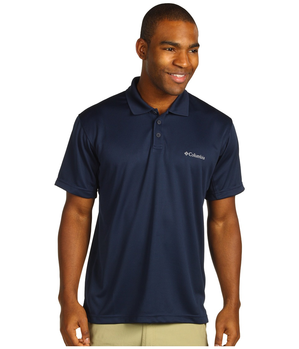 Columbia - New Utilizer Polo (Collegiate Navy) Men's Short Sleeve Pullover
