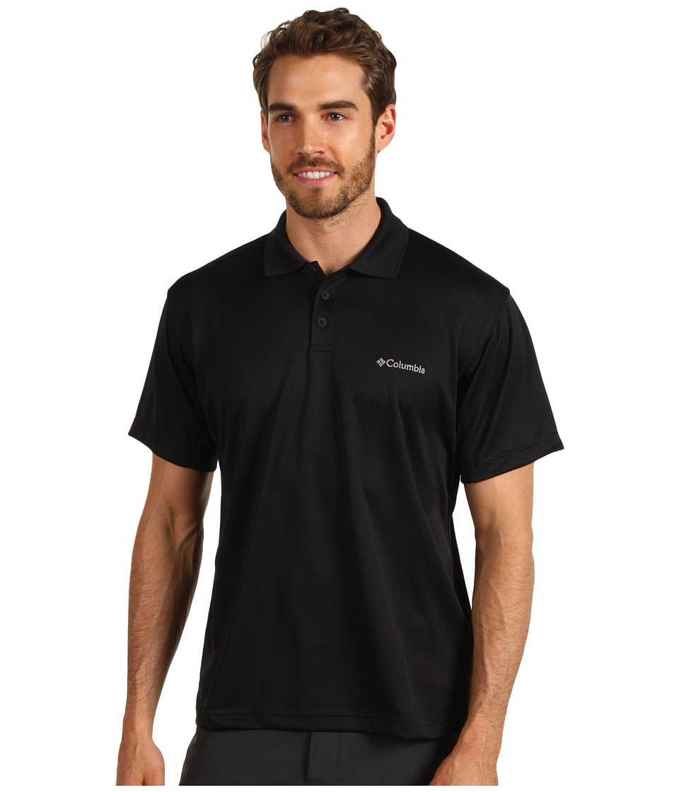 Columbia - New Utilizer Polo (Black) Men's Short Sleeve Pullover