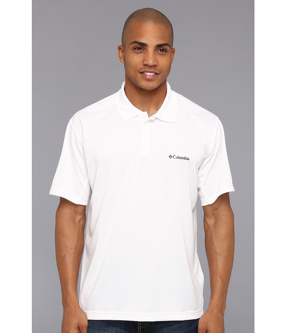 Columbia - New Utilizer Polo (White) Men's Short Sleeve Pullover