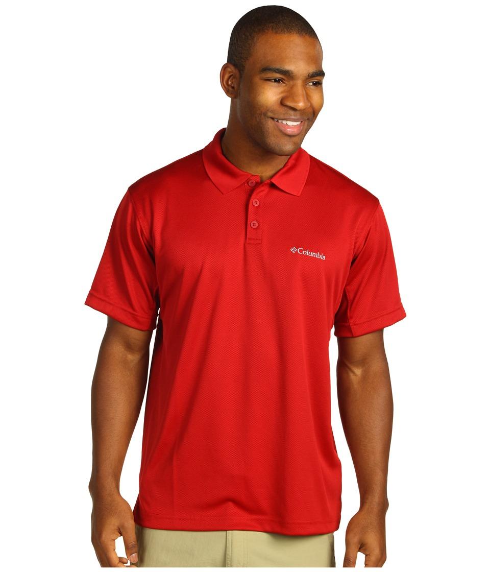 Columbia - New Utilizer Polo (Red Velvet) Men's Short Sleeve Pullover