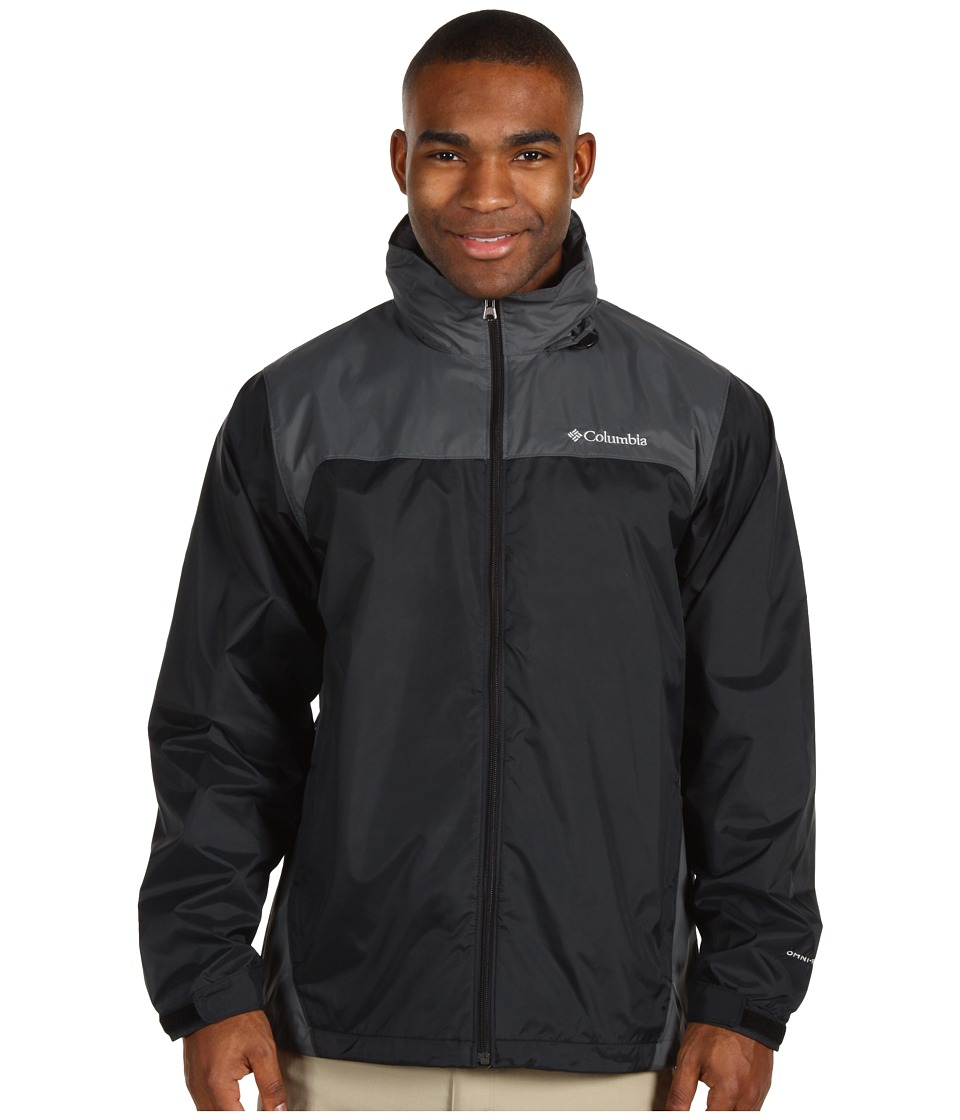 Columbia - Glennaker Lake Rain Jacket (Black/Grill 2) Men
