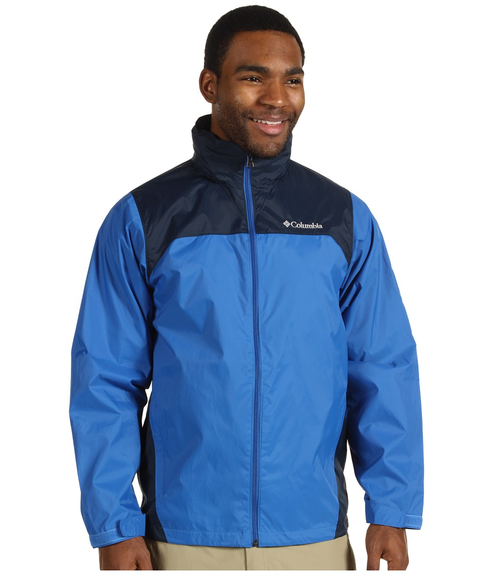 Columbia - Glennaker Laketm Rain Jacket (Blue Jay/Columbia Navy) Men's Coat