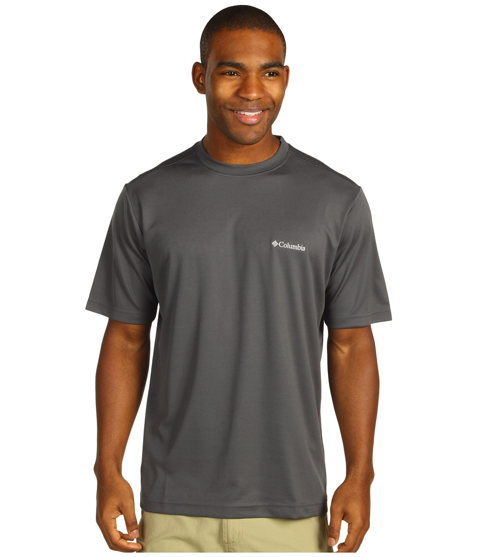 Columbia Meeker Peak Short Sleeve Crew (Grill) Men
